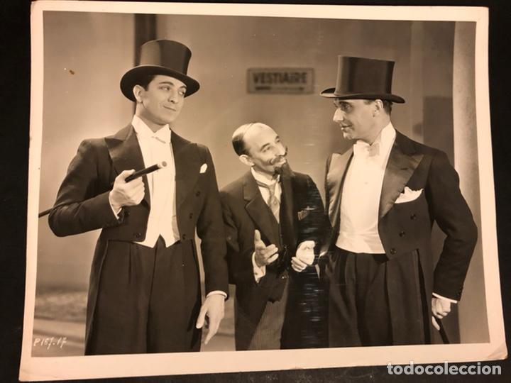 FOTO ORIGINAL DE ROBERTO REY,GABRIEL ALGARA Y PEPE ARGUELLES 25 X 20 CM (Cine - Fotos y Postales de Actores y Actrices)