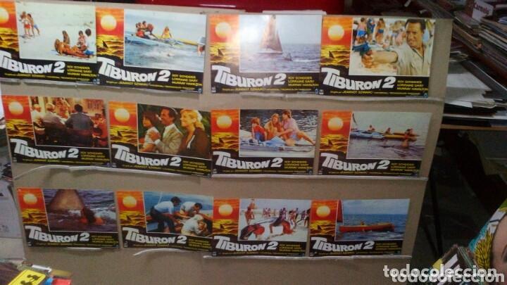 TIBURON 2 ROY SCHEIDER JUEGO COMPLETO DEL ESTRENO P (Cine - Fotos, Fotocromos y Postales de Películas)
