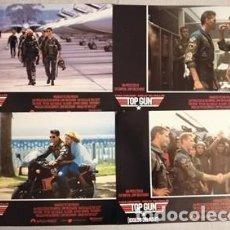 Cinema: TOP GUN (FOTOCROMOS - SET COMPLETO) TOM CRUISE, KELLY MCGILLIS. Lote 204066953