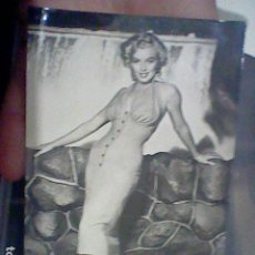 Cine: MARILYN MONROE POSTALES FOTO ACTRIZ Nº 2012 C 13,8 X 8,8 CMS PRECIOSA. Lote 192354800
