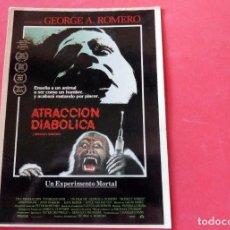 Cine: POSTAL COL. YO AMO EL CINE - ATRACCIÓN DIABOLICA. Lote 192365017