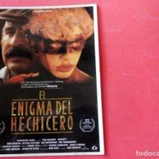 Cine: POSTAL COL. YO AMO EL CINE - EL ENIGMA DEL HECHICERO. Lote 192365131