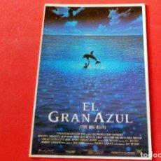 Cine: POSTAL EDITIONS MERCURI Nº 731 EL GRAN AZUL. Lote 192366023