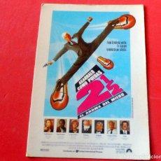 Cine: POSTAL CINE - EDITIONS MERCURI Nº 422 AGARRALO COMO PUEDAS 2 1/2. Lote 192366301