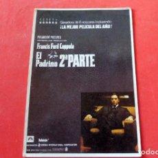 Cine: POSTAL CINE - EDITIONS MERCURI Nº 173 EL PADRINO II PARTE. Lote 192366455