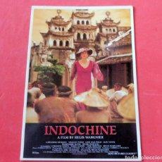 Cine: POSTAL CINE - EDITIONS MERCURI Nº 768 INDOCHINA. Lote 192366541