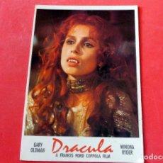 Cine: POSTAL CINE - EDITIONS MERCURI Nº 749 BRAM STOKER'S DRACULA (LOBBI CARD). Lote 192366988