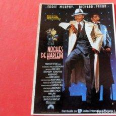 Cine: POSTAL CINE - EDITIONS MERCURI Nº 180 NOCHES DE HARLEM. Lote 192367086