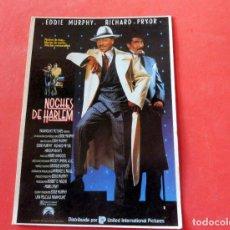 Cine: POSTAL CINE - EDITIONS MERCURI Nº 180 NOCHES DE HARLEM. Lote 192367155
