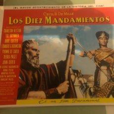 Cine: FOTOCROMOS. LOS DIEZ MANDAMIENTOS. Lote 192367272