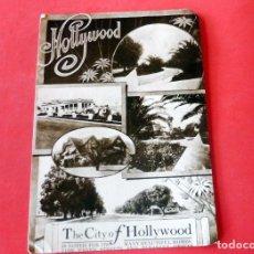 Cinema: TARJETA POSTAL - CITY OF HOLLYWOOD POSTER 1909. Lote 192469267