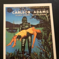 Cinema: TARJETA POSTAL LA MUJER Y EL MONSTRUO RICHARD CARLSON. Lote 192643443