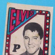 Cine: CROMO ELVIS PRESLEY AÑOS 70 RARO REY DEL ROCK CINE MÚSICA ARTISTA VINTAGE. Lote 192697911