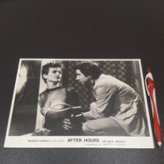 Cine: AFTER HOURS. FOTOGRAFIA DE LA PELÍCULA.. Lote 192776201