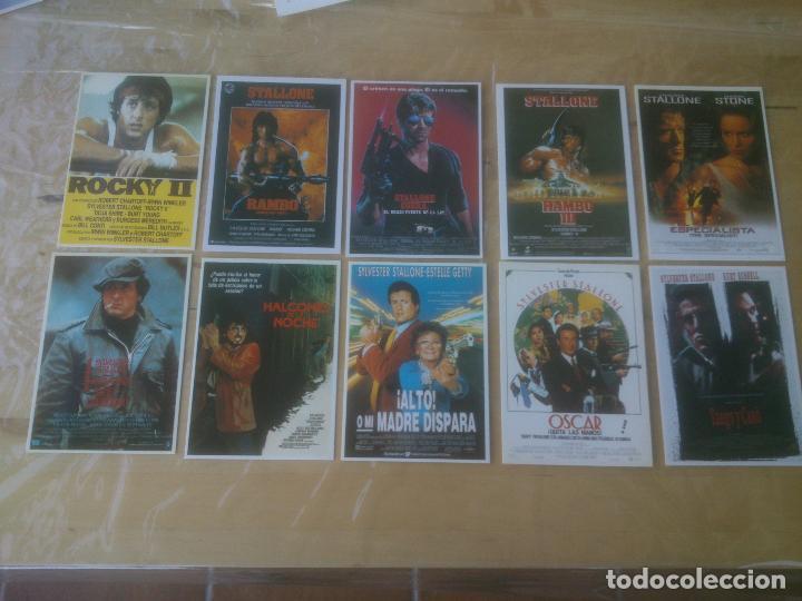 Cine: LOTE DE Tarjeta postal sylvester stallone - Foto 2 - 193451267