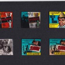 Cine: 12 TRANSPARENCIAS DE PUBLICIDAD DE PELÍCULAS. Lote 193986136