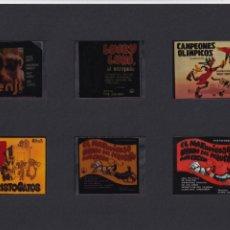 Cine: 12 TRANSPARENCIAS DE PUBLICIDAD DE PELÍCULAS. Lote 193986705