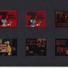 Cine: 12 TRANSPARENCIAS DE PUBLICIDAD DE PELÍCULAS. Lote 193986891
