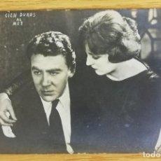 Cine: ANTIGUA TARJETA POSTAL DE CINE MUDO. CIEN DUROS AL MES. Lote 194150616