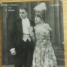 Cine: ANTIGUA TARJETA POSTAL DE CINE MUDO. PECADOS CAPITALES. Lote 194150778