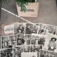 Cine: FOTOCROMOS LOS H MARX EN EL OESTE. Lote 194246301
