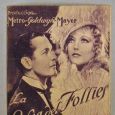 Cine: TARJETA DE CINE DE LA PELÍCULA LA RUBIA DEL FOLLIES. Lote 194273781