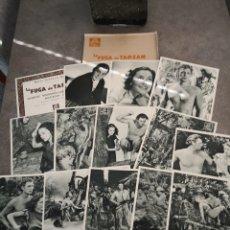 Cine: FOTOCROMOS. LA FUGA DE TARZAN. Lote 194348952