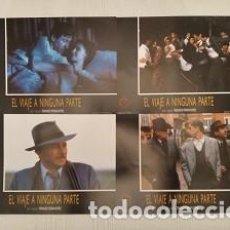 Cine: EL VIAJE A NINGUNA PARTE (FOTOCROMOS - SET COMPLETO) POR FERNANDO FERNÁN GÓMEZ CON JOSÉ SACRISTÁN. Lote 194498677