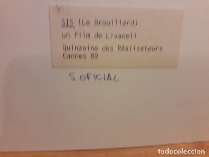 Cine: SIS - LE BROUILLARD / ELIA KAZAN / LIVANELI 1988 FOTOGRAFIA DE ESCENA 18x12,5 cms - Foto 2 - 194505170