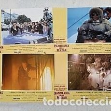 Cine: PANORAMA PARA MATAR (FOTOCROMOS - SET COMPLETO) CON ROGER MOORE, CHRISTOPHER WALKEN, TANYA ROBERTS. Lote 194510586