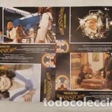 Cine: PROYECTO BRAINSTORM (FOTOCROMOS - SET COMPLETO) POR DOUGLAS TRUMBULL CON CHRISTOPHER WALKEN. Lote 194512746