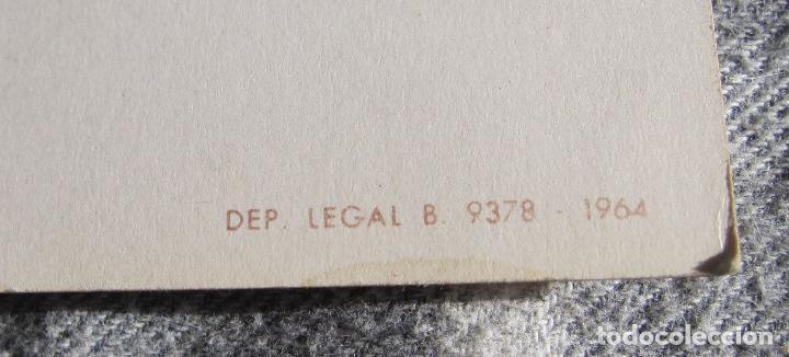 Cine: POSTAL GIGANTE. BONANZA. 1964.G-21. OSCARCOLOR. 15 X 21 CM - Foto 2 - 194514765