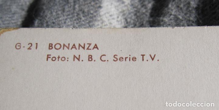 Cine: POSTAL GIGANTE. BONANZA. 1964.G-21. OSCARCOLOR. 15 X 21 CM - Foto 3 - 194514765