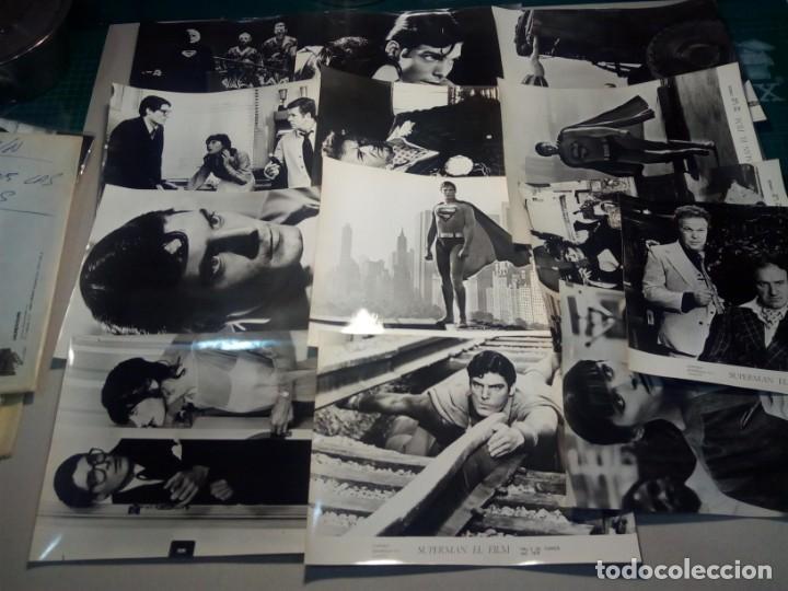 SUPERMAN (1978) - FOTOCROMOS ORIGINALES (Cine - Fotos, Fotocromos y Postales de Películas)