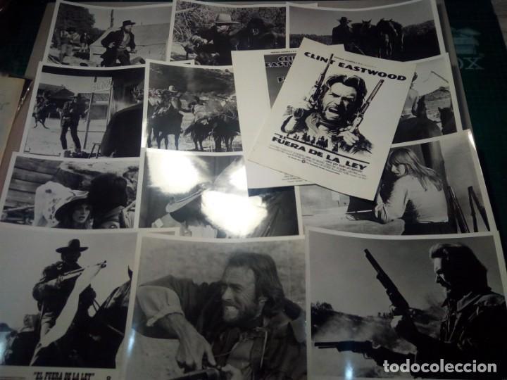 EL FUERA DE LA LEY (1976) - FOTOCROMOS ORIGINALES (Cine - Fotos, Fotocromos y Postales de Películas)