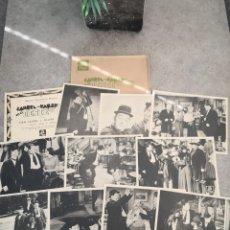 Cine: FOTOCROMOS LAUREL Y HARDY EN EL OESTE. Lote 194536711