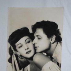 Cine: ACTRIS DE CINE , MARIA MONTEZ Y PETER COL . Lote 194555323