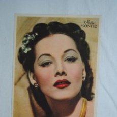 Cine: ACTRIS DE CINE , MARIA MONTEZ . Lote 194555932