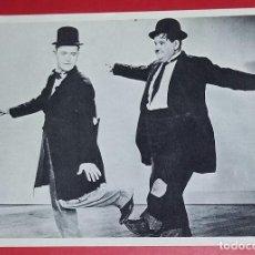 Cine: POSTAL LAUREL & HARDY. SIN CIRCULAR.. Lote 194579035