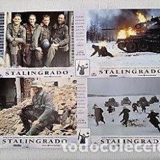 Cine: STALINGRADO (FOTOCROMOS - SET COMPLETO) POR JOSEPH VILSMAIER CON DOMINIQUE HORWITZ. Lote 194616676