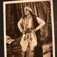 Cine: TARJETA POSTAL DE RODOLFO RUDOLPH VALENTINO.EL HIJO DEL CAID. Lote 194723280