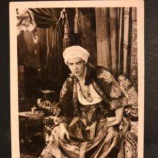 Cine: TARJETA POSTAL DE RODOLFO RUDOLPH VALENTINO.EL HIJO DEL CAID. Lote 194723321