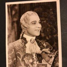 Cine: TARJETA POSTAL DE RODOLFO RUDOLPH VALENTINO.MONSIEUR BEAUCAIRE. Lote 194723460