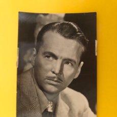 Cine: ACTORES Y ACTRICES. POSTAL: JOHN LUND, NO.1390, ACTOR ESTADOUNIDENSE. EDITA: JDP (H.1950?). Lote 194745523