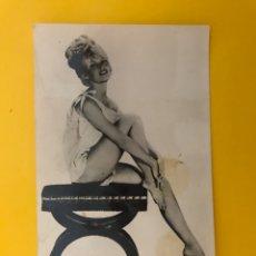 Cine: CINE BRIGITTE BARDOT. ACTRIZ Y CANTANTE FRANCESA . POSTAL (H.1960?). Lote 194746160