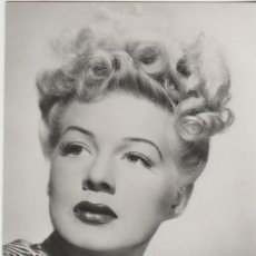 Cine: LOTE X-POSTAL CINE BETTY HUTTON. Lote 194778002