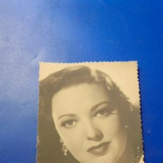 Cine: ANTIGUA FOTOGRAFIA DE LA ARTISTA LINDA DARNELL 13,5X8,5 CM. . Lote 194861223