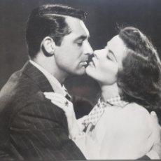 Cine: KATHERINE HEPBURN & CARY GRANT: HISTORIAS DE FILADELFHIA. FOTOGRAFÍA GRANDE ORIGINAL. Lote 194881096