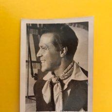 Cine: CINE. ACTORES Y ACTRICES. POSTAL ANTONIO VILAR. FIRMADA..., ACTOR PORTUGUÉS. EDITA: CINE MUNDO. Lote 194882702
