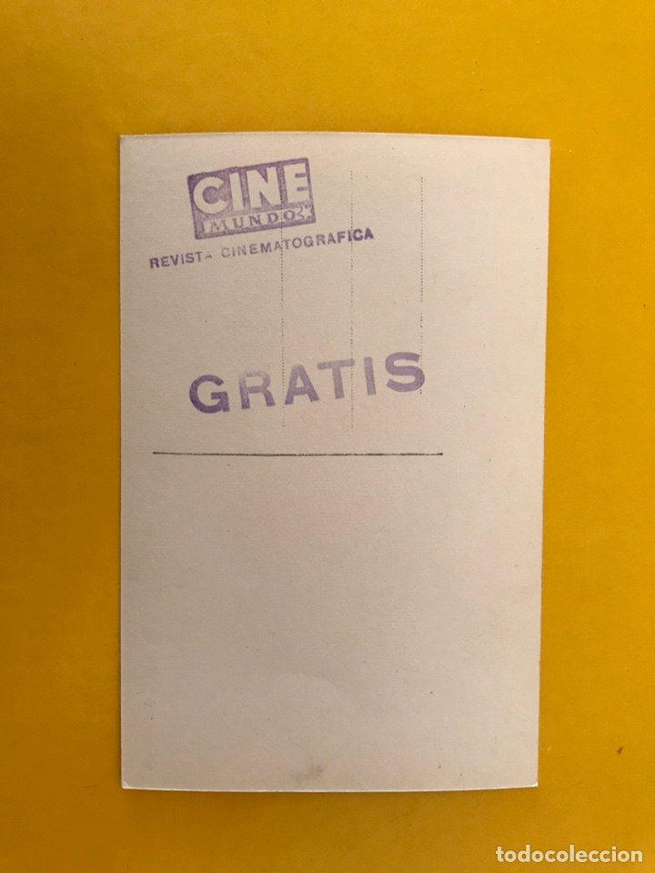 Cine: CINE. Actores y Actrices. Postal GLENN FORD Firmada..., Actor Estadounidense (h.1950?) - Foto 2 - 194883366